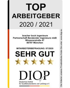 Top Arbeitgeber 2020-2021